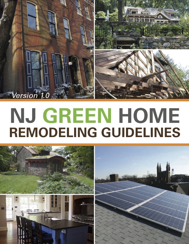 Eric tuvel nj green home remodeling guidelines for Green home renovations