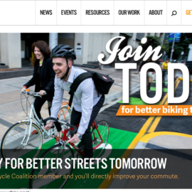 SF Bicycle Coalition Website