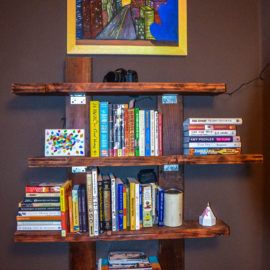 Asymmetrical Bookshelf